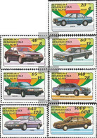 Madagascar 1404-1410 (complete.issue.) Unmounted Mint / Never Hinged 1993 Automobile - Madagascar (1960-...)