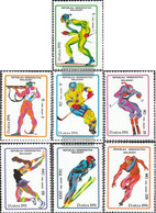 Madagascar 1338-1344 (complete.issue.) Unmounted Mint / Never Hinged 1991 Olympics Winter Games '92 - Madagascar (1960-...)