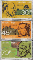 Dahomey 349-351 (complete Issue) Unmounted Mint / Never Hinged 1968 Europafrique - Benin - Dahomey (1960-...)