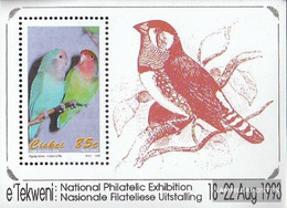 South Africa - Ciskei Block8 (complete Issue) Unmounted Mint / Never Hinged 1993 Birds - Ciskei