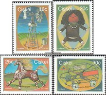 South Africa - Ciskei 119-122 (complete Issue) Unmounted Mint / Never Hinged 1987 Selbstgefertigtes Toys - Ciskei