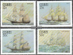 South Africa - Ciskei 83-86 (complete Issue) Unmounted Mint / Never Hinged 1985 Truppenschiffe - Ciskei