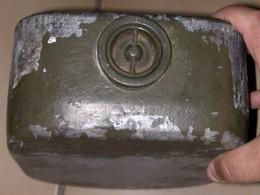 Mine Française HPDX F1A Modèle Aluminium , Equipement, Uniformes, Véhicules,1939-45, Grenade, Armes Démilitarisées - 1939-45
