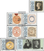 Marshall-Islands 288-294 (complete Issue) Unmounted Mint / Never Hinged 1990 150 Years Stamps - Marshall Islands