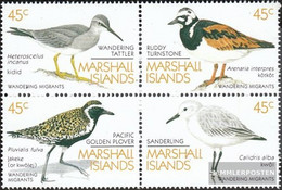Marshall-Islands 222-225 Block Of Four (complete Issue) Unmounted Mint / Never Hinged 1989 Migratory - Marshall Islands