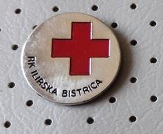 Red Cross Of Ilirska Bistrica Slovenia Pin - Medical