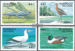 Marshall-Islands 146-149 (complete Issue) Unmounted Mint / Never Hinged 1988 Birds - Marshall Islands