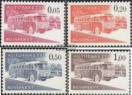 Finland AP10x-AP13x (complete Issue) Unmounted Mint / Never Hinged 1963 Autopaketmarken - Finland