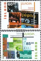Island 1038A-1039A (completa Edizione) MNH 2003 Poster Art - Nuevos