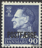 Denmark PA43 (complete Issue) Unmounted Mint / Never Hinged 1970 Package Mark - Parcel Post