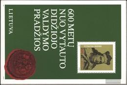 Litauen Blocco 3 (completa Edizione) MNH 1993 Vytautas - Lituania