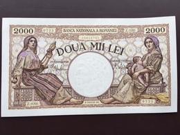 ROMANIA P53 2000 LEI 1941 UNC - Rumänien