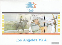 Belgium Block54 (complete Issue) Unmounted Mint / Never Hinged 1984 Olympics Summer - Blocks & Sheetlets 1962-....
