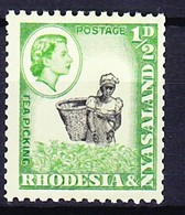 RHODESIE NYASSALAND 1959-62 YT N° 19a ** - Rhodesia & Nyasaland (1954-1963)