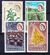 RHODESIE NYASSALAND 1963 YT N° 44 à 46 ** - Rhodesia & Nyasaland (1954-1963)