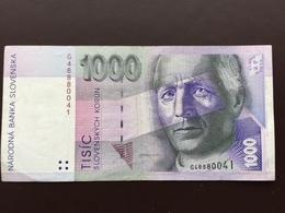 SLOVAQUIA P24 1000 KORUM 1.9.1993 AUNC - Slowakei