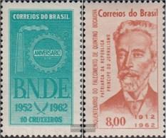 Brazil 1025,1026 (complete Issue) Unmounted Mint / Never Hinged 1962 Economic Development, Bocaiuva - Brasilien