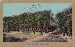 New York Saratoga Springs United States Hotel 1906 - Saratoga Springs