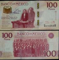 MEXICO 2017 $100 CONSTITUTION Centenary Commemorative Ltd. Banknote Mint, Crisp. - Mexico