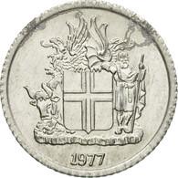 Monnaie, Iceland, Krona, 1977, TB+, Aluminium, KM:23 - Islande