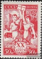 Sowjetunion 655 MNH 1938 Komsomol - 1923-1991 USSR