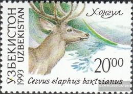 Uzbekistan 14 (complete Issue) Unmounted Mint / Never Hinged 1993 Locals Flora - Uzbekistan