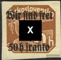 Rumburg (Sudetenland) 24 Tested Unmounted Mint / Never Hinged 1938 Tschechoslowakeiaufdruck - Sudetenland