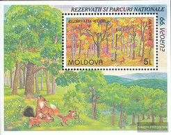 Moldawien Block18 (complete Issue) Unmounted Mint / Never Hinged 1999 National - Moldova