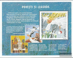Moldawien Block12 (complete Issue) Unmounted Mint / Never Hinged 1997 Say - Moldova