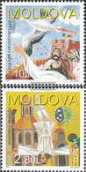 Moldawien 236-237 (complete Issue) Unmounted Mint / Never Hinged 1997 Say - Moldova
