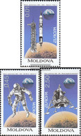 Moldawien 106-108 (complete Issue) Unmounted Mint / Never Hinged 1994 Discoveries And Inventions - Moldova