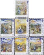 United Kingdom - Alderney 452-458 (complete.issue.) Unmounted Mint / Never Hinged 2012 Christmas - Alderney