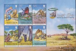 United Kingdom - Alderney Block20 (complete Issue) Unmounted Mint / Never Hinged 2007 Kipling - Alderney