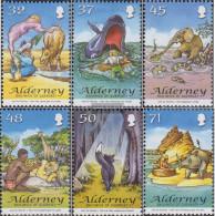 United Kingdom - Alderney 314-319 (complete Issue) Unmounted Mint / Never Hinged 2007 Kipling - Alderney