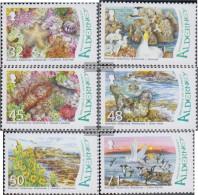 United Kingdom - Alderney 298-303 (complete Issue) Unmounted Mint / Never Hinged 2007 Wetlands - Alderney