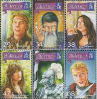 United Kingdom - Alderney 266-271 (complete Issue) Unmounted Mint / Never Hinged 2006 White - Alderney