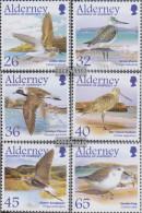 United Kingdom - Alderney 259-264 (complete.issue.) Unmounted Mint / Never Hinged 2005 Waders - Alderney