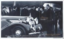 United Kingdom - Alderney Block11 (complete Issue) Unmounted Mint / Never Hinged 2002 Queen Elizabeth II. - Alderney