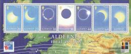 United Kingdom - Alderney Block6 (complete.issue.) Unmounted Mint / Never Hinged 1999 Total Eclipse - Alderney