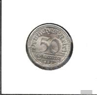 German Empire Jägernr: 301 1922 F Stgl./unzirkuliert Aluminum Stgl./unzirkuliert 1922 50 Pfennig Ährengarbe - [ 3] 1918-1933 : Weimar Republic