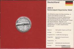 FRD (FR.Germany) Jägernr: 512 2005 D Stgl./unzirkuliert Silver Stgl./unzirkuliert 2005 10 Euro Bavarian Forest - Germany