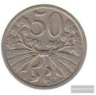 Czechoslovakia Km-number. : 2 1931 Extremely Fine Copper-Nickel 1931 50 Haleru Leo - Czechoslovakia