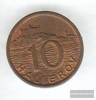 Slovakia Km-number. : 1 1939 Extremely Fine Bronze 1939 10 Halierov Crest - Slovakia