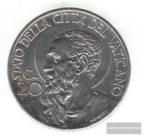 Vatikanstadt Km-number. : 24 1941 Extremely Fine Steel Extremely Fine 1941 20 Centesimi Paulus - Vatican