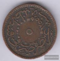 Turkey Km-number. : 666 1255 /13 Very Fine Copper 1255 5 Para Tughra - Turkey