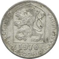Monnaie, Tchécoslovaquie, 10 Haleru, 1976, TB+, Aluminium, KM:80 - Czechoslovakia