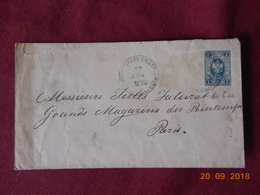 Entier Postal De Russie De 1892 A Destination De Paris - Briefe U. Dokumente