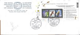 CANADA - 2012 - FDC - BENEFICIAL INSECTS ......... WNV - Insekten