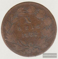 Portugal Km-number. : 526 1883 Extremely Fine Bronze Extremely Fine 1883 10 Rice Luiz I. - Portugal