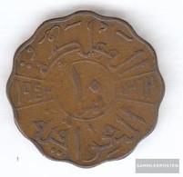 Iraq 108 1943 Very Fine Bronze Very Fine 1943 10 Fils Faisal II. - Iraq